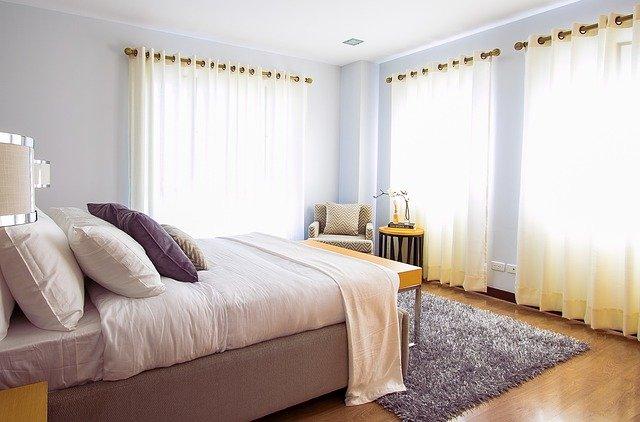 sypialnia, poduszki
